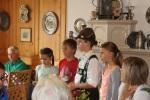Die Kinder trugen ein Gedicht vor.