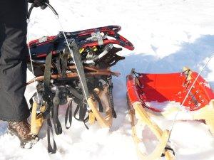 Lasten- und Sportrodel in einem Gerät
