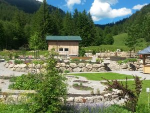 Kräutergarten in der Jagdhütte