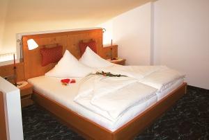 Schlafbereich Panoramazimmer Sonnenblume