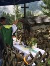 Bergmesse auf der Burglhütte