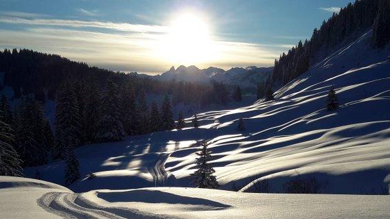 Winter in Balderschwang