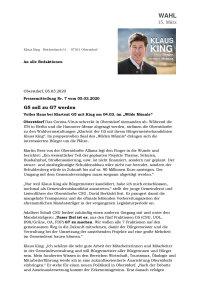 Pressemitteilung G5-Treffen Wilde Männle 2020-03-04