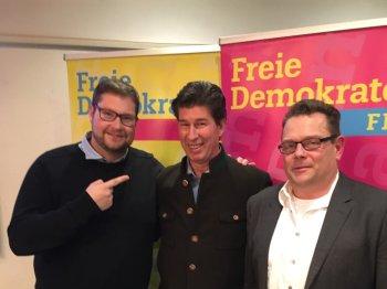 V.l. Michael Käser, Klaus King und Oliver Schwarz