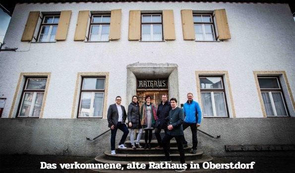 Baustellen Rathaus