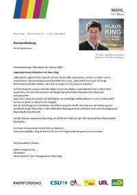 Pressemitteilung Jugendparlament 2020-02-06