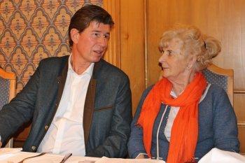 Klaus King im Gespräch mit Irene Kraus