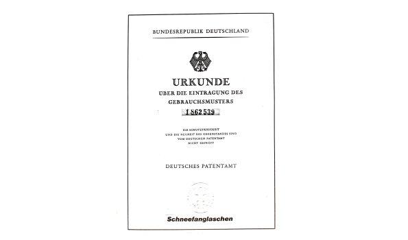 Deutsches Patentamt - Schneefanglasche