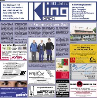 60 Jahre Spenlgerei Kling GmbH
