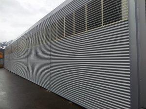 Metallfassade aus Aluminium