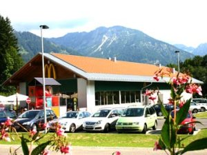 Mc Donalds in Oberstdorf