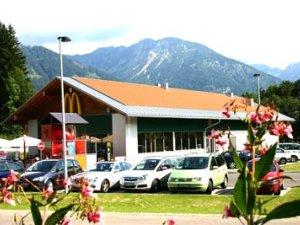 Mc Donalds in Oberstdorf