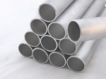 Snow retention tubes Aluminium for standing seam metal roofs
