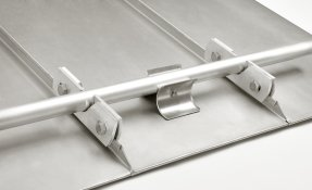 Snow guard - For standing seam roofs - Snow retention systems Kling