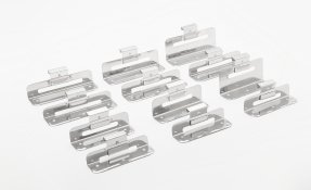 Clip range for standing seam metal roofs