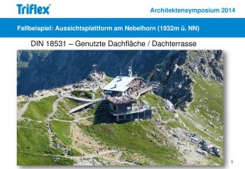 Triflex am Nebelhorn