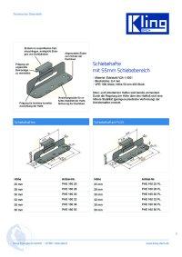 Kling Schiebehaften für Blechdächer für die sichere Befestigung von Dach und Wand