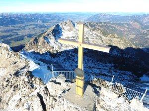 Nebelhorn Oberstdorf Gipfelkreuz