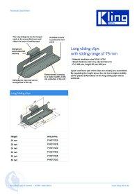 Data sheet long sliding clips ENG
