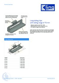 Data sheet long sliding clips ENG