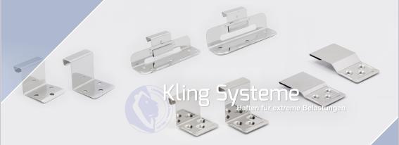 Kling-Dach Header-Systeme-Haften