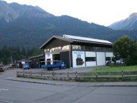Das Firmengebäude im Industriegebiet Steinach