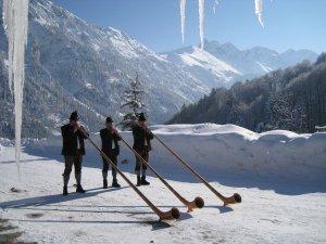 Alphorn Winter