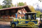 Oberstdorfer Marktbähnle vorm Haus
