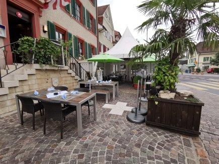 Gartenterrasse Hotel Weisses Kreuz Breitenbach