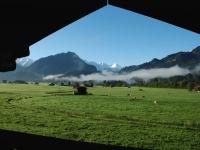 Freier, unverbauter Panoramablick auf den Allgäuer Hauptkamm