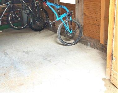 Abgeschlossene Bike-Garage