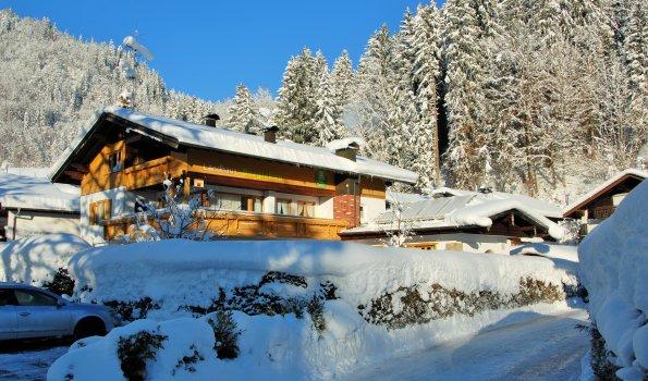 Winter im Landhaus Bergleben