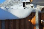Kunstwerke aus Schnee gebaut