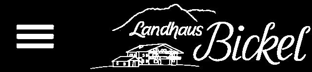Landhaus Bickel - Logo
