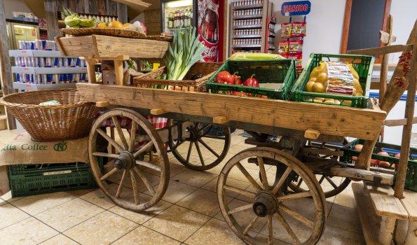 Dorfladen Gemüsewagen