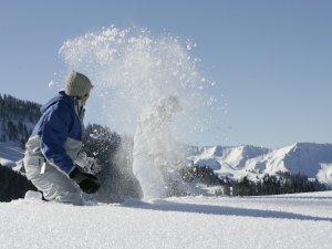 Spass im Schnee g