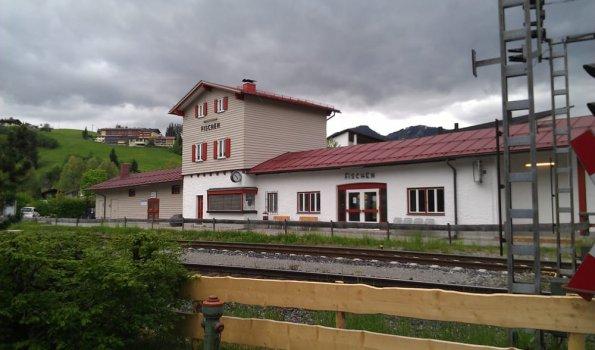 Bahnhof Fischen