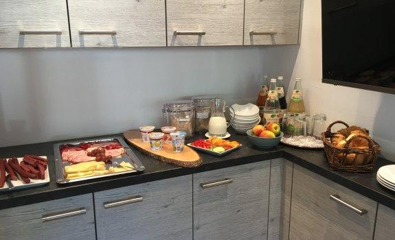 Landhaus Bild Frühstück