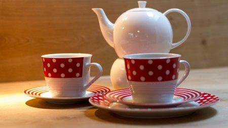 Den Urlaub bei einer Tasse Tee genießen...