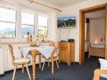Wohnzimmer Ferienwohnung Soldanelle