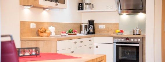 Küche Ferienwohnung Anemone