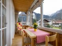 Wohnung 9 - Balkon / Wintergarten -