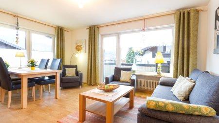 Wohnung in der Poststraße - Wohnzimmer -