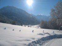 Winterliches Trettachtal