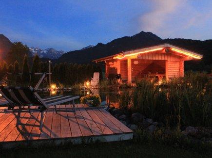 Sonnenuntergang Landhaus In d´r Wies