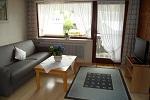 Ferienwohnung Rubihorn: Wohnbereich u. Balkon