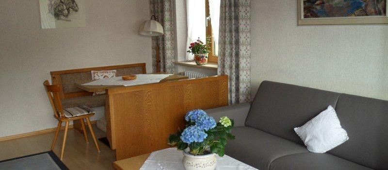 Ferienwohnung Rubihorn: Wohnbereich