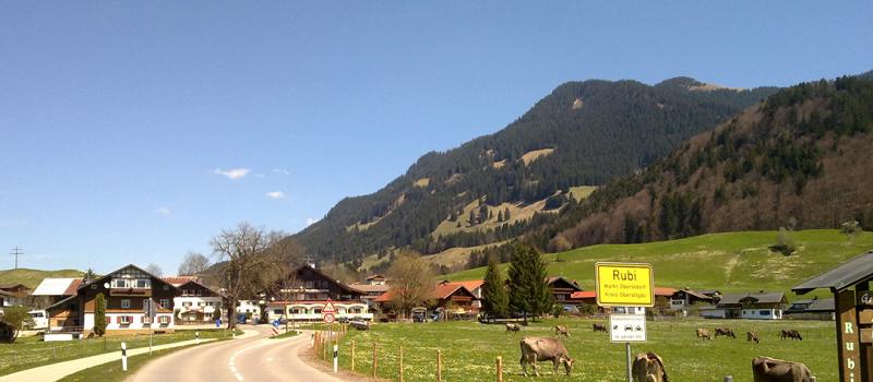 Herzlich Willkommen in Rubi bei Oberstdorf