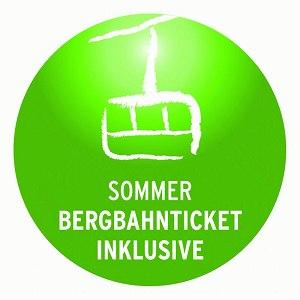 Bergbahnticket inklusive: Im Sommer 2014 im Landhaus Enzian verfügbar