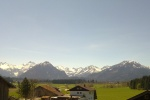 Landhaus Enzian: Ausblick in die Oberstdorfer Berge